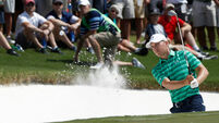 Jordan Spieth faces mental test after grinding first round at Quail Hollow