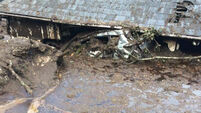 Donegal woman has lucky escape from mudslide