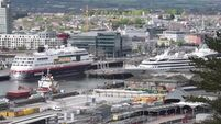 VIDEO: Three cruise ships berthed in Cork