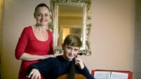 Mum says cello-playing son 'will be a somebody'