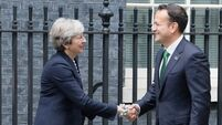 Leo Varadkar is all business back in Downing St