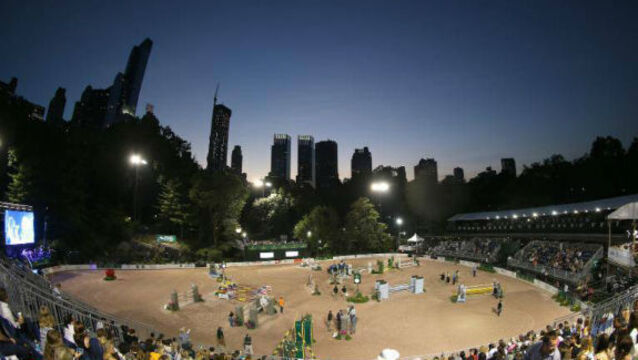 Irish show jumpers going for glory under a New York sky