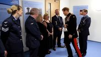 'Really proud day' for hero doctor's descendants as Prince Harry opens medical centre