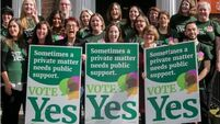Yes campaigners find positivity on the doorsteps but doubts too