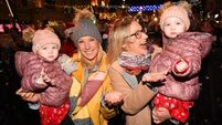 Cork is a-Glow as Lord Mayor switches on festive lights