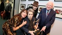 Rock's rebels turn out for MacGowan's 60th