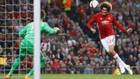 Marouane Fellaini squeezes Man United into decider
