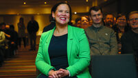 Mary Lou McDonald calls for President election