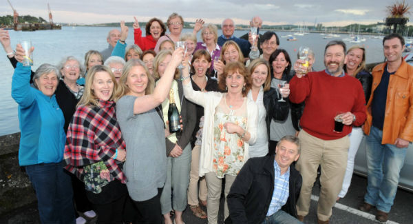 Members of CHASE celebrating the planning refusal against Indaver in Monkstown in 2011. Picture: Eddie O'Hare