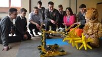 Eight Cork pupils set for world finals of prestigious robotics competition