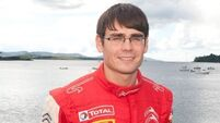 Keith Cronin makes positive start at Rally Isle of Man