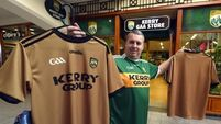 Kerry going for gold as fans warm to Paul Galvin jersey