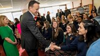 Taoiseach promotes gender equality and social progress during canvass in Lucan