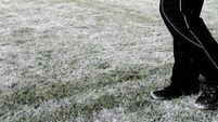 Hail, sleet and snow continuing with yellow warning for three counties