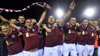 Galway United draw again but move off the bottom