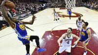 Kevin Durant delivers as MVP helps Warriors to NBA title