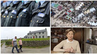 MORNING BULLETIN: CSO stats blow to gardaí; hurricane and earthquake hit Central America