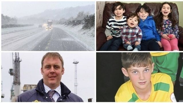 BULLETIN:  Country braced as 'Beast from East' takes effect; Second arrest made in Garda Adrian Donohoe murder investigation