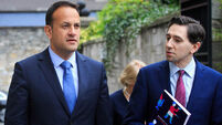 Leo Varadkar backs Simon Coveney's water stance