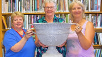 West Cork group knit rip-roaring replica Sam Maguire Cup