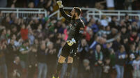 Cork City keepers Mark McNulty and Alan Smith step into Irish breach