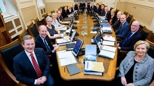 Kenny and the gang can't quite turn the Cabinet table on scandal
