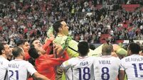 Bravo the hero as Chile beat Portugal on penalties