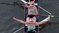 Claire Lambe passes Boat Race test with honours