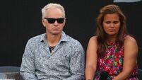 EIMEAR RYAN: John McEnroe, you cannot be serious