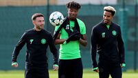Celtic Training Session - Lennoxtown