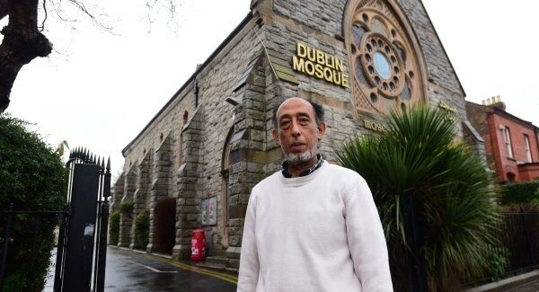 Fazel Ryklief outside the Mosque on the South Circular Road in Dublin. Mr Ryklief says Ireland is one of the safer countries for Muslims, however the attack by a lone right-wing extremist on a mosque in Canada has increased concerns over safety. Picture: Moya Nolan