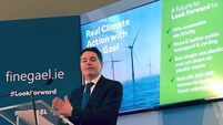 Fine Gael launches climate change manifesto while highlighting policy differences with Sinn Féin