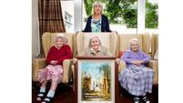 Famous artist's widow donates painting to care home