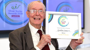 Gordon Lawson, 99, goes from RAF pilot to top silver surfer
