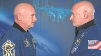 Twins no longer identical after one brother's year on International Space Station