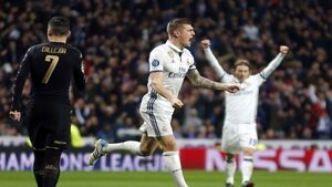 Real Madrid in control despite Napoli's away goal