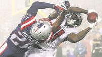 Patriots in control as they tame Falcons