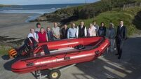 Watch: Inchydoney Inshore Lifeboat Association name new lifeboat