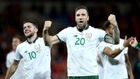 Upwardly mobile Ireland await World Cup play-off fate