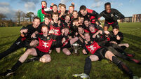 UCC celebrate winning The Collingwood Cup 23/2/2017