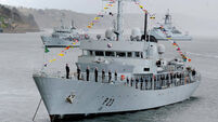 State spent €380k maintaining ship LÉ Aisling