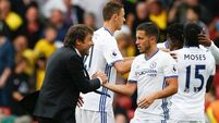 Hazard offers glimpse of Blues post-Terry