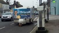 Fine Gael takes down nearly 100 posters of election candidate in Cork