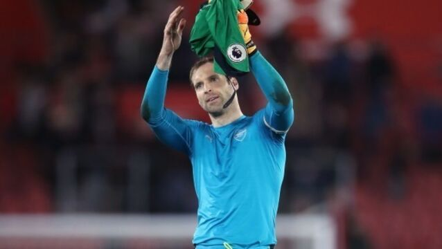 Europa League is not the end of the world, says Petr Cech