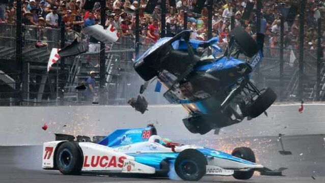 Driver walks away from horrific Indy 500 crash