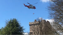 Tourist airlifted from Blarney Castle after heart attack