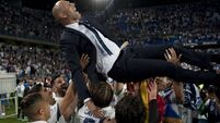 Zinedine Zidane hails greatest day