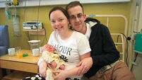 Hospital welcomes first Irish baby of 2015