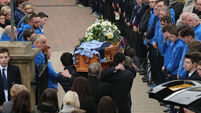 Schoolboy Oisin McGrath's funeral taking place today