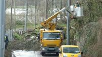Thousands left without power after strong winds